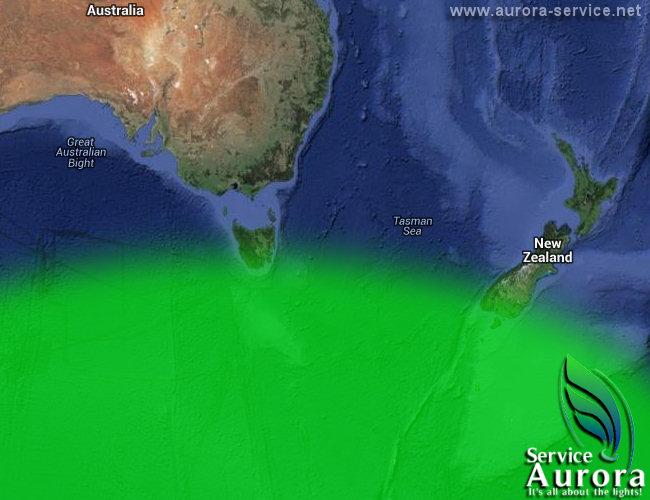 current aurora borealis KP level