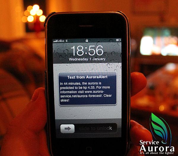 Aurora Australis Alert