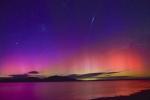 The Famous Aurora Australis & Iridium Flare